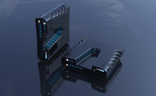 Ps5 S Devkit Looks Like An Alien Spaceship In 3d Mock Ups
