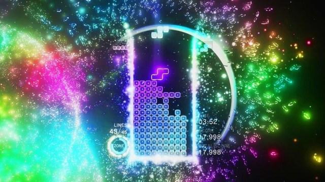 Best PSVR Game Tetris Effect