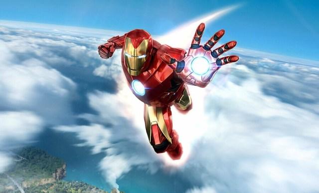 Marvel's Iron Man VR PSVR PlayStation VR 2