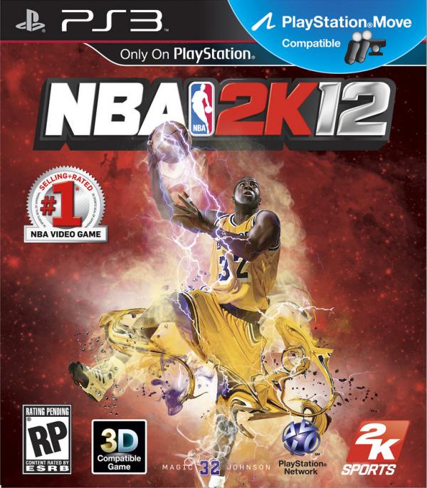 NBA 2K12 Cover Artwork