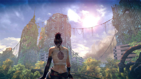 Mrsuicidesheep Wallpaper Fall Enslaved Provides Proof That Post Apocalyptic Games Can Be