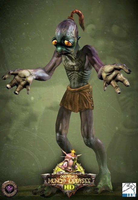 3d Wow Wallpaper Introducing Abe From Oddworld Munch S Oddysee Hd Push