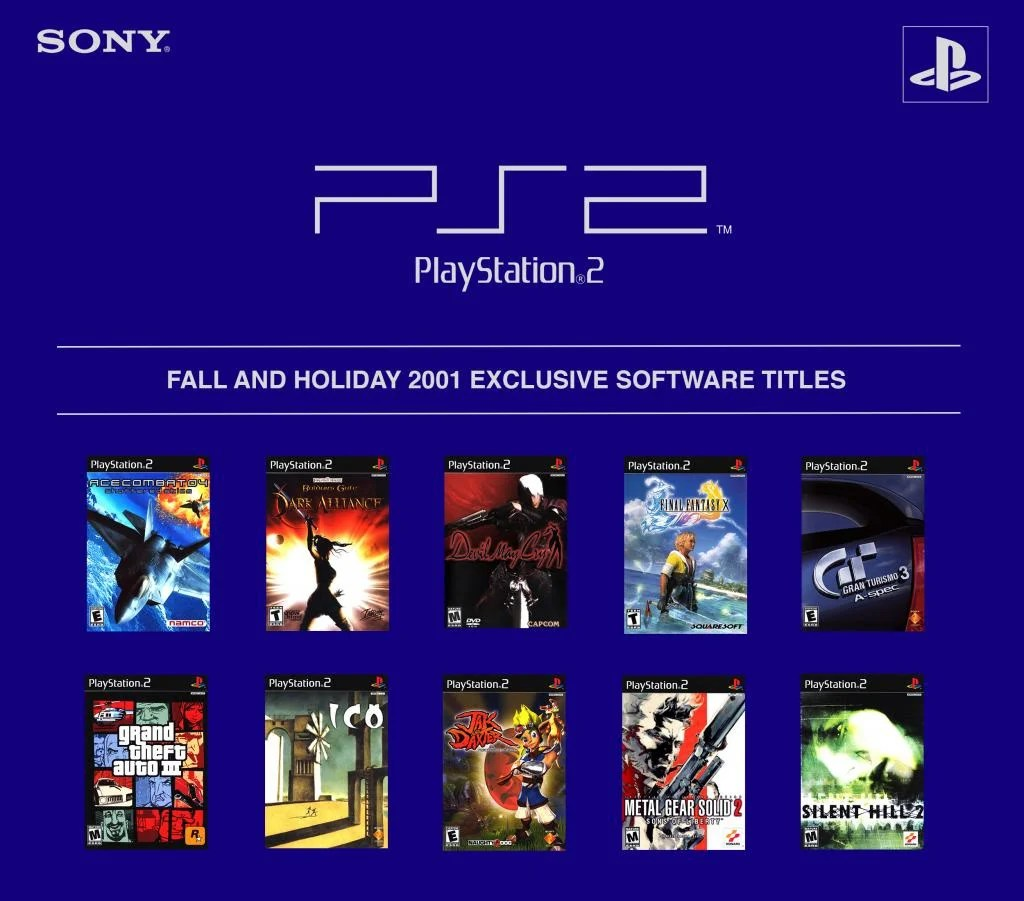Soapbox Why Are We Arguing Over Holiday Exclusives When PS2s First Year Offering Will Forever