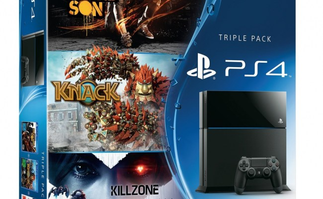 This Enormous Ps4 Bundle Is Bordering On Parody Push Square