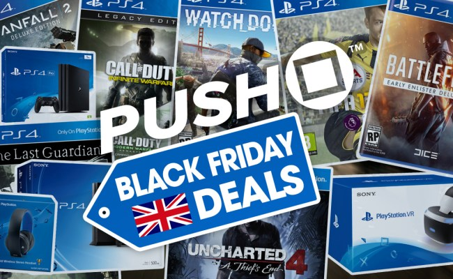 The Best Ps4 Black Friday Deals 2016 In The Uk Hardware