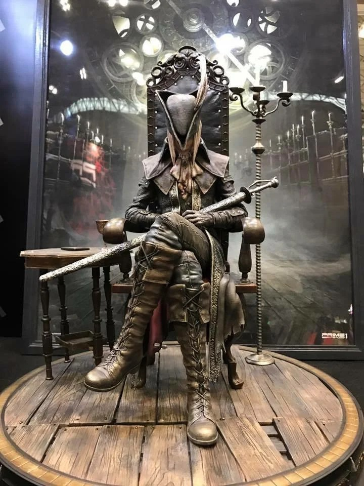 ps4 chair revolving high back blimey! these bloodborne statues are absolutely incredible - push square
