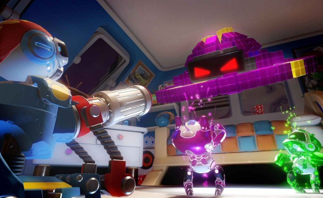 Return To The Playroom Vr With Free Toy Wars Minigame