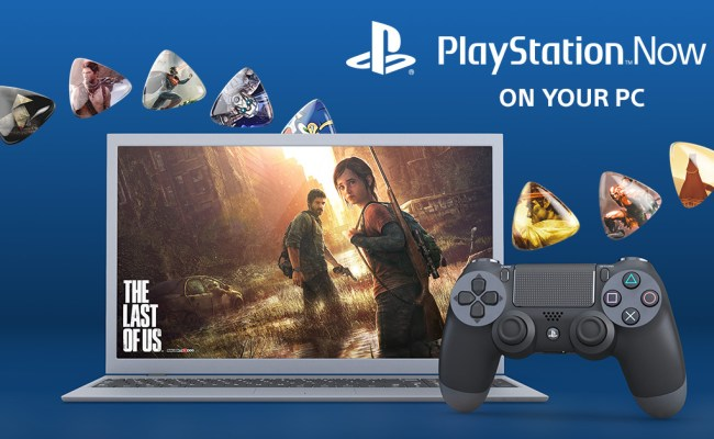 Ps4 Games Can Now Be Played On Pc With Playstation Now