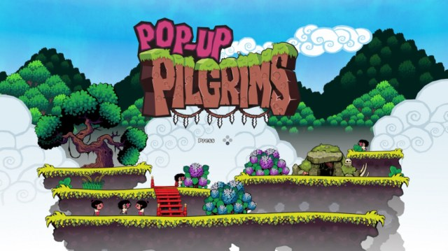 Pop-Up Pilgrims PS4 PSVR PlayStation 1