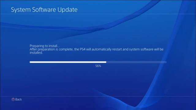 PS4 PlayStation 4 Firmware Update 5.55