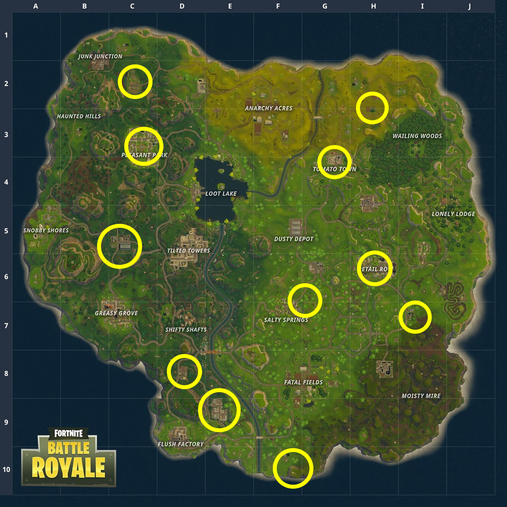 Fortnite Hungry Gnome Locations  Where To Search For