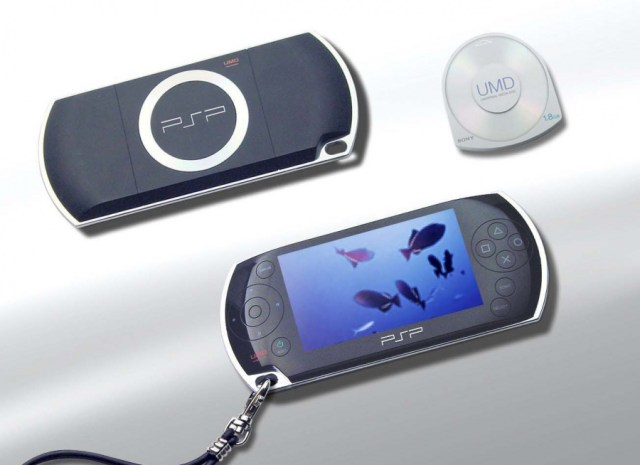 Initial shots of the PSP in 2003 showed flush buttons and a slightly different design