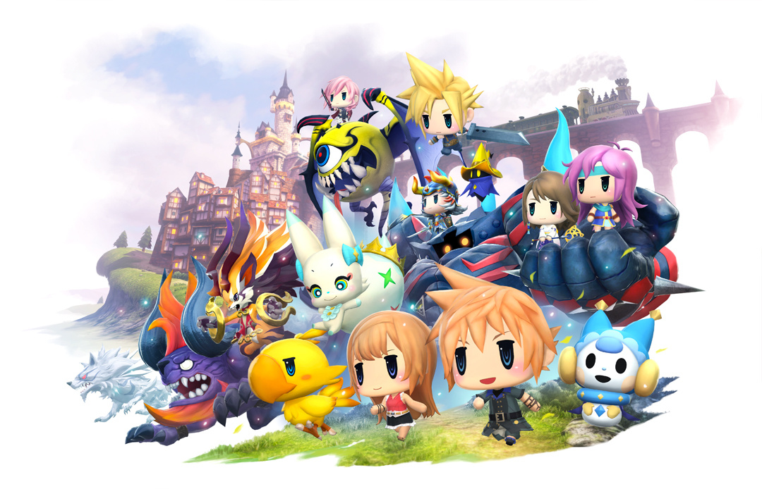TGS 2018 What The Honk Is Going On In World Of Final Fantasy Maxima Push Square