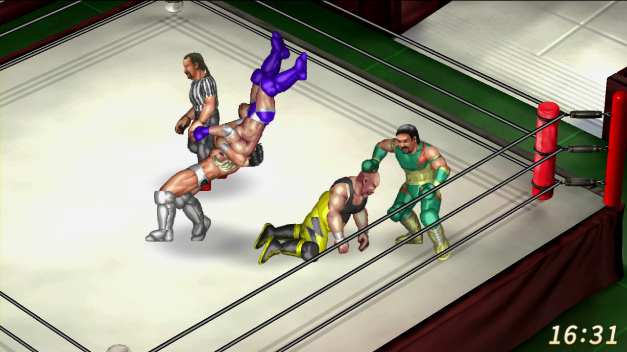 Animated Name Wallpaper Maker Fire Pro Wrestling World Review Ps4 Push Square