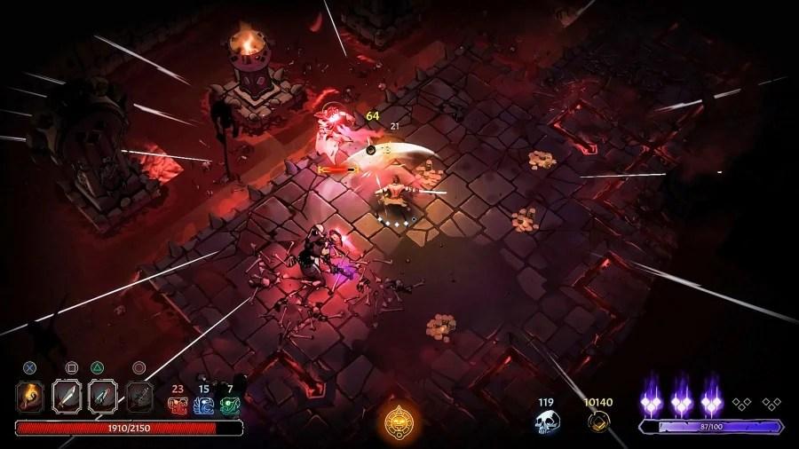 Revisión de Curse of the Dead Gods - Captura de pantalla 1 de 6