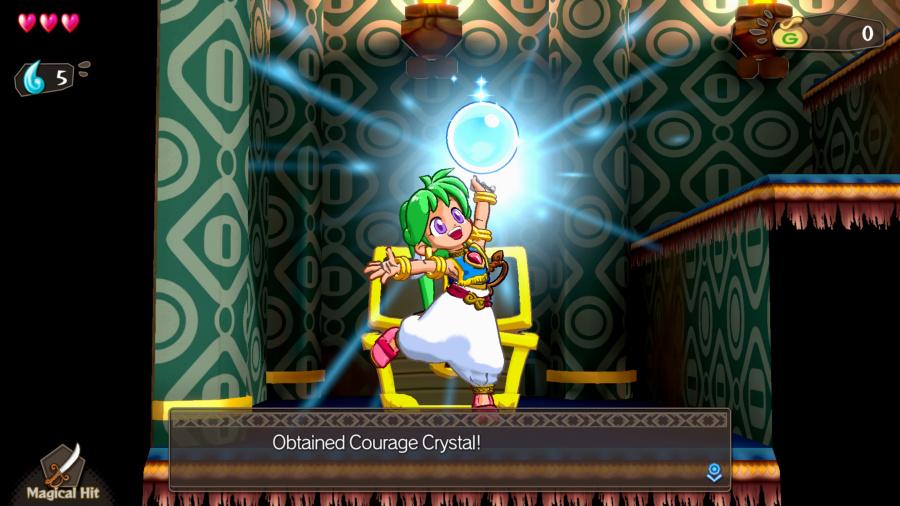 Wonder Boy: Asha en Monster World Review - Captura de pantalla 1 de 10