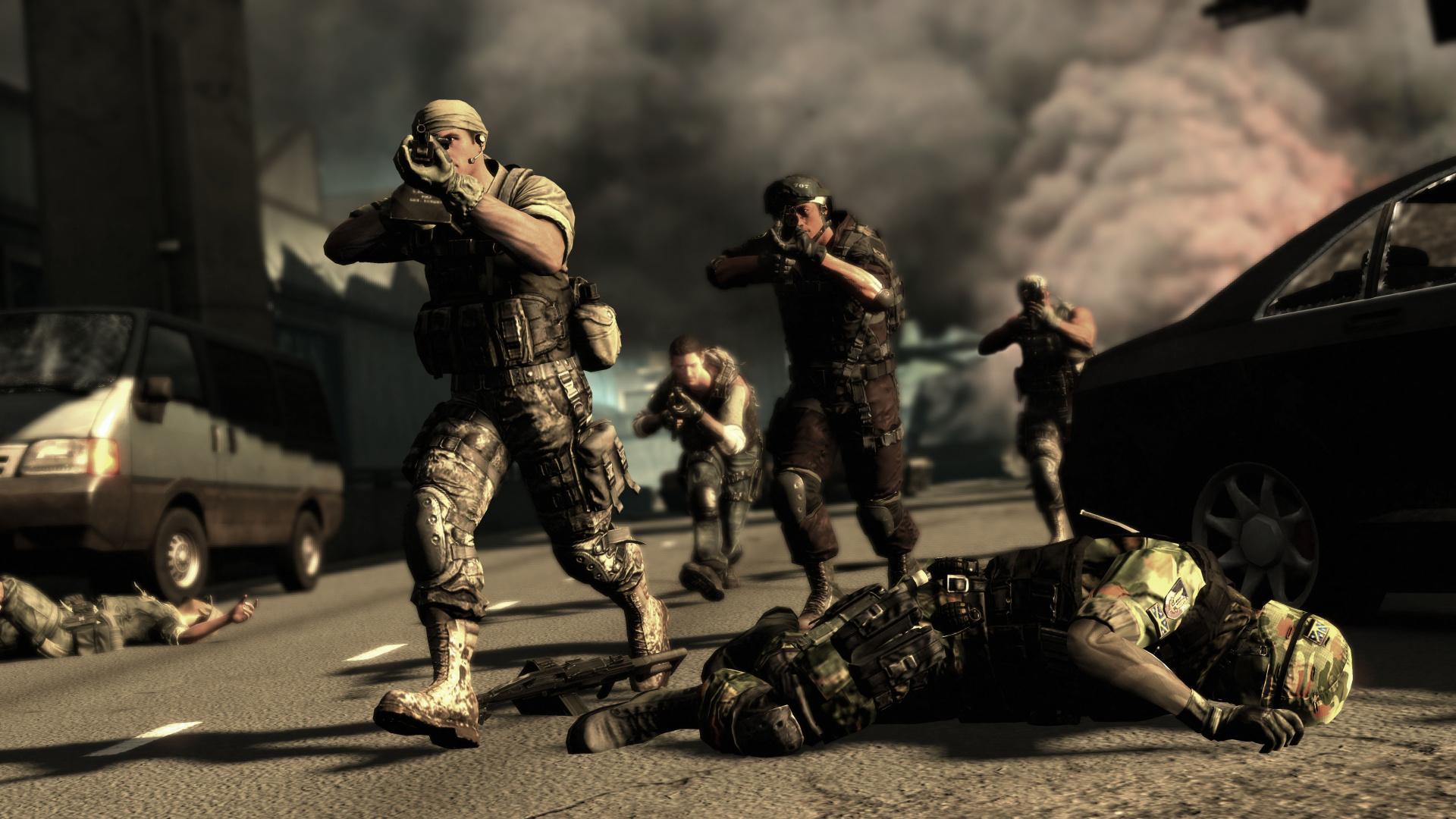 Wallpaper Falling Skies Socom Special Forces Ps3 Playstation 3 News Reviews