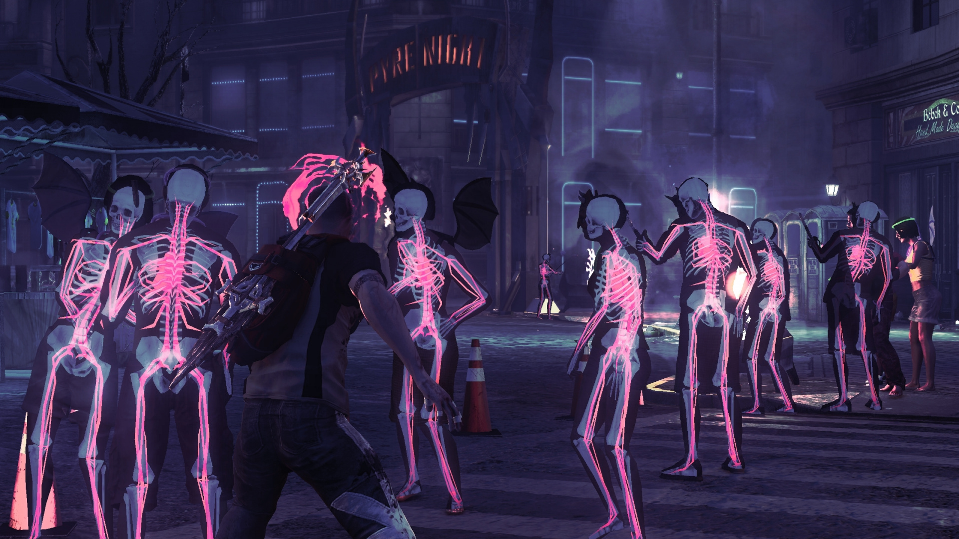 InFAMOUS Festival Of Blood PS3 PlayStation 3 News Reviews Trailer Amp Screenshots