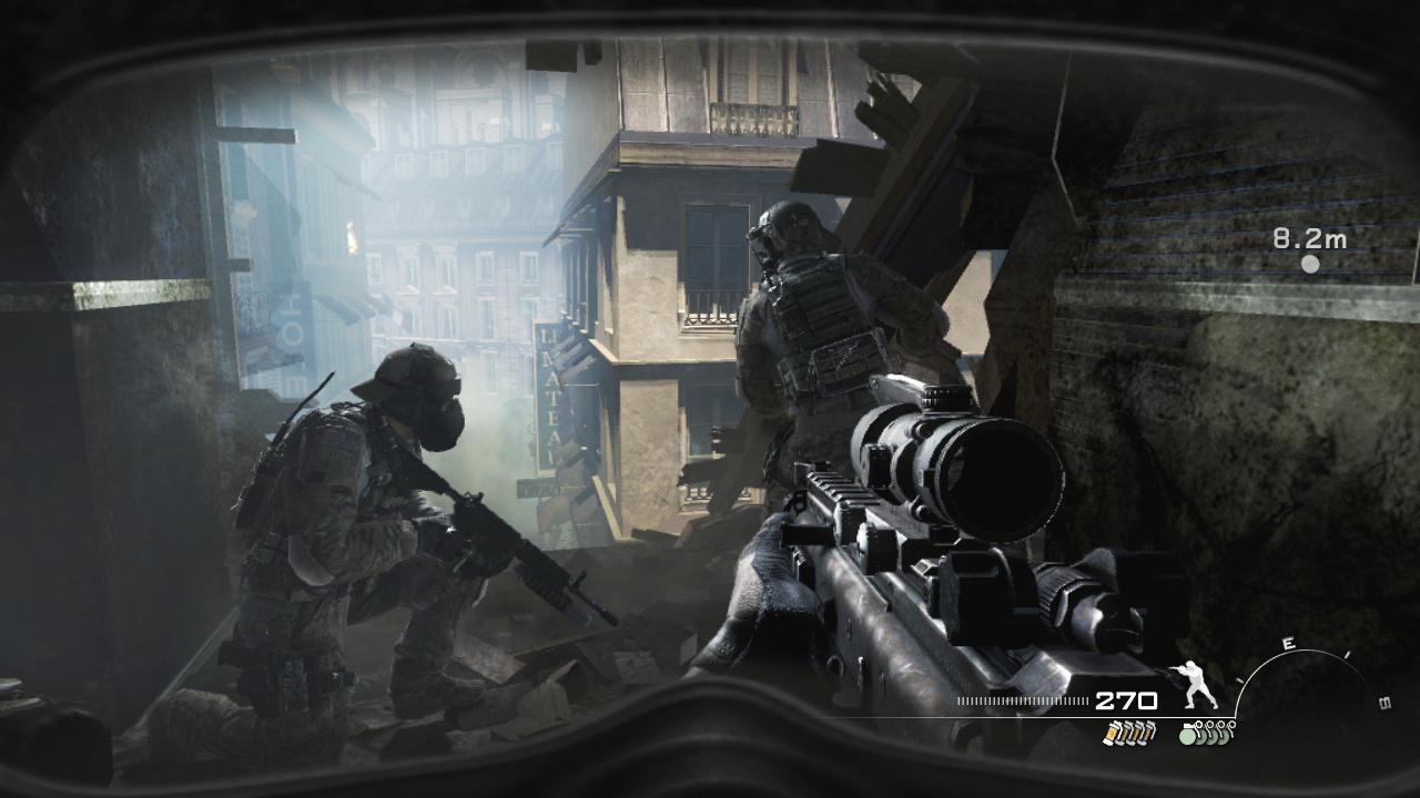 Gas Mask Girl Wallpaper Call Of Duty Modern Warfare 3 Ps3 Playstation 3 Game