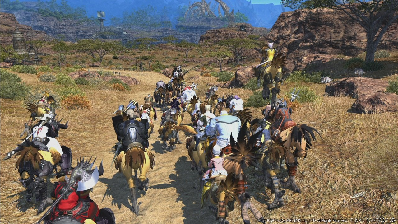 Final Fantasy XIV Online A Realm Reborn PS4