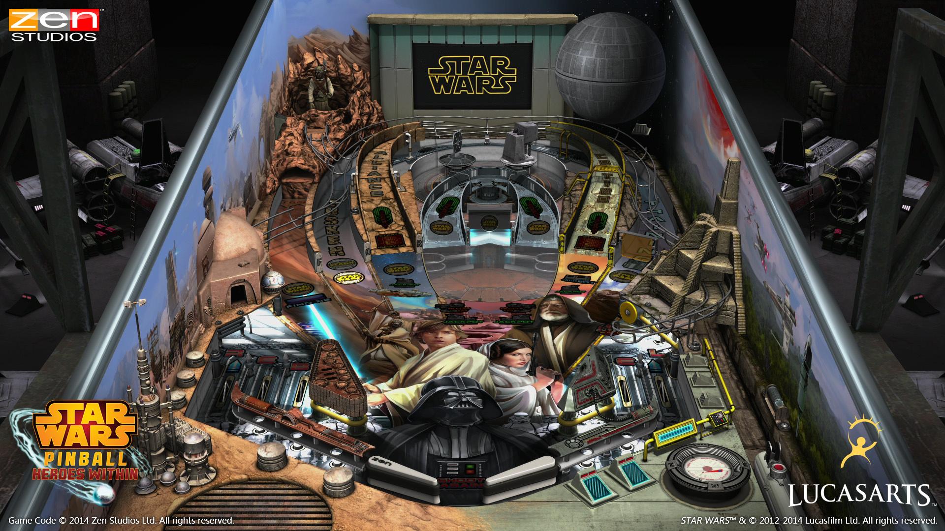 Star Wars Pinball Heroes Within Ps4 Playstation 4