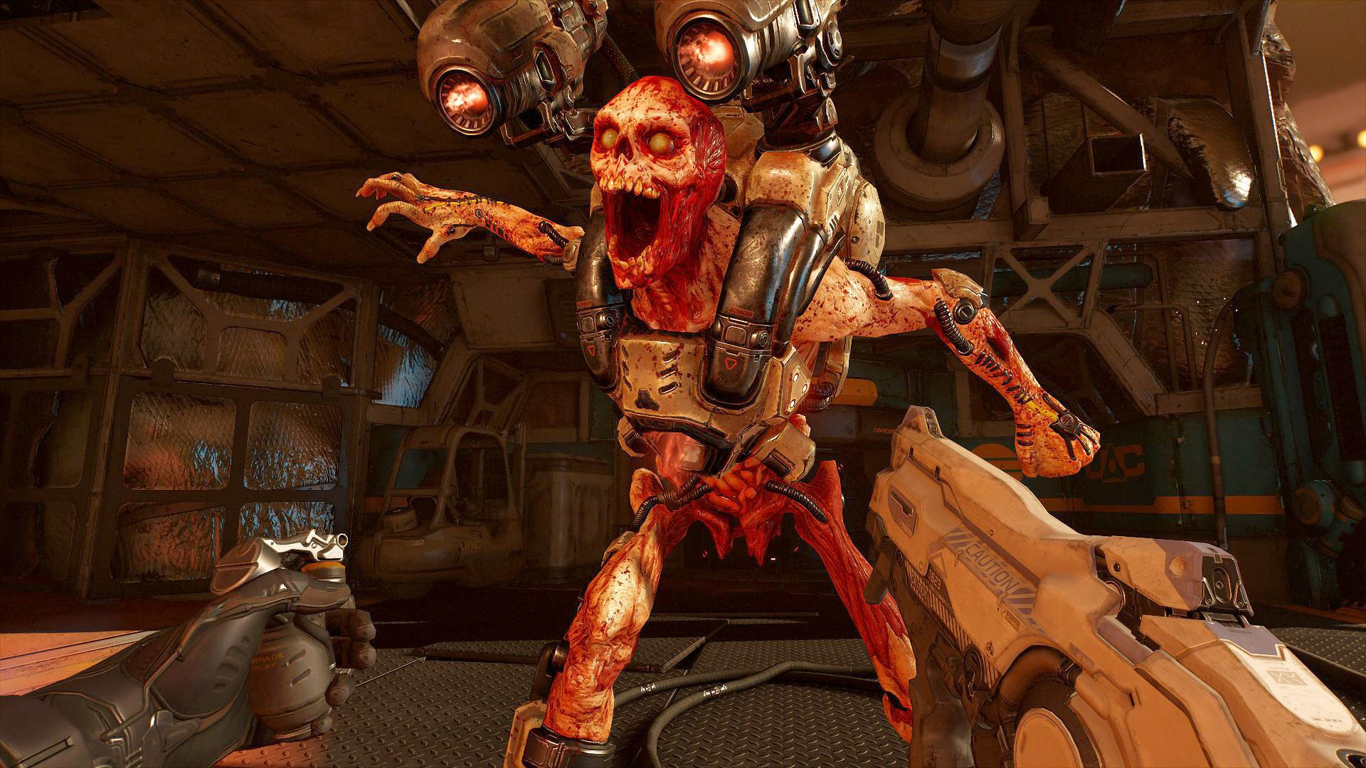 3d Home Wallpaper For Pc Doom Vfr Ps4 Playstation 4 Game Profile News