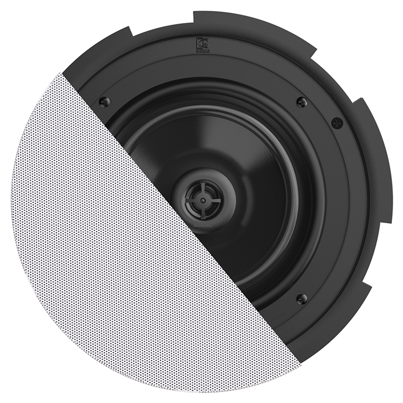 medium resolution of cira8 quickfit 2 way 8 ceiling speaker with twistfix grill