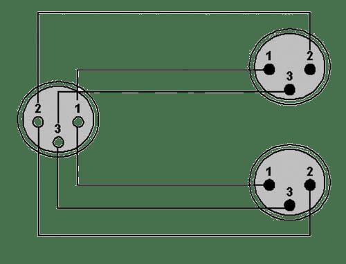 wiring diagram cab735 xlr female 2 x xlr male  [ 1024 x 782 Pixel ]