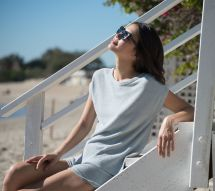 Barefoot Dreams Cozychic Ultra Lite Cap Sleeve Tee - Page