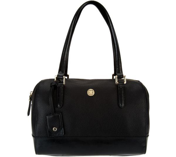 Liz Claiborne York Heritage Collection Leather Handbag