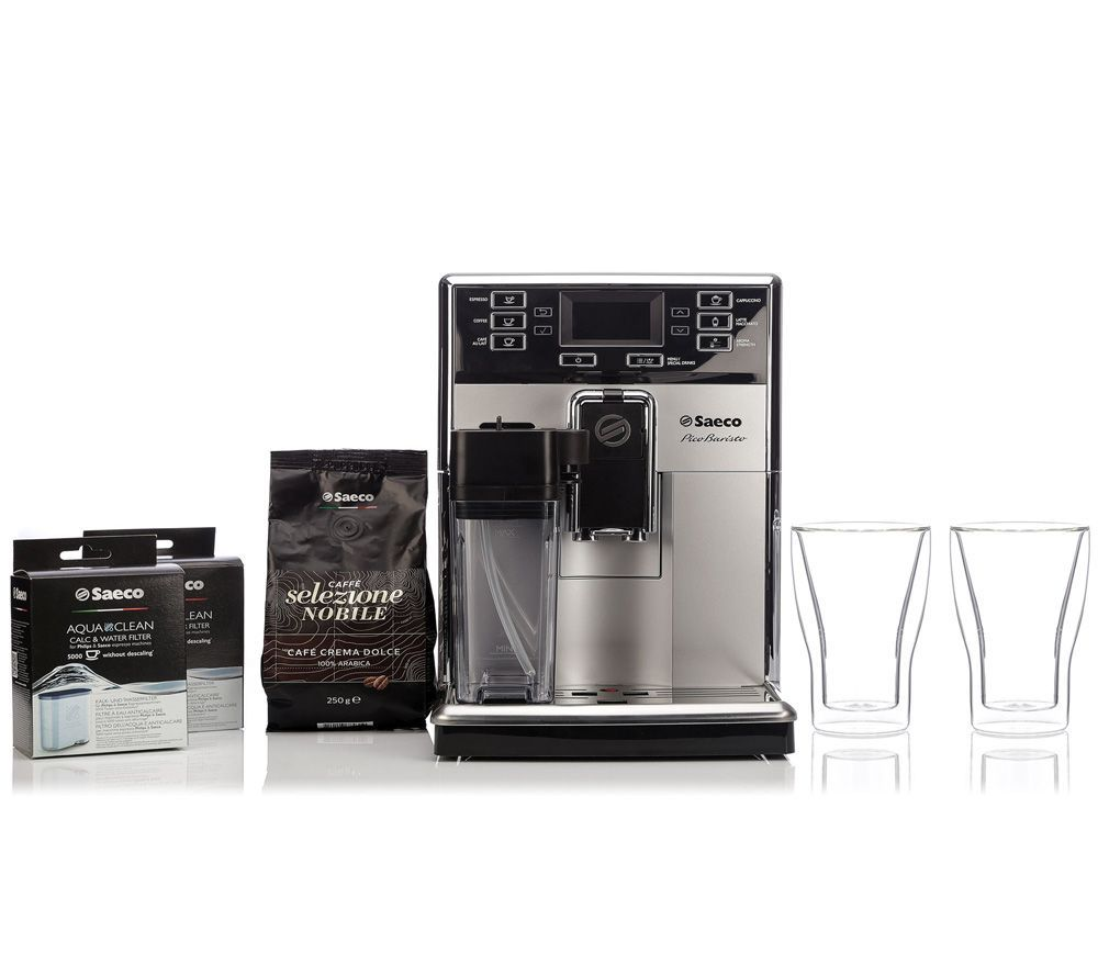 Saeco By Philips Picobaristo 250G Kaffeebohnen & Aquaclean Filter