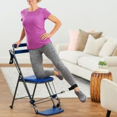Chair Gym Exercise System With Twister Seat Teen Desk Chairs Workout 3 Levels Of Resistance And 5 Dvds Page 1 Qvc Com