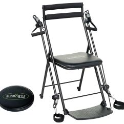 Chair Stand Hsn Code Tattoo Amazon Gym Workout With 3 Levels Of Resistance And 5 Dvds Page 1 Qvc Com