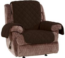 Sure Fit Recliner Plush Comfort Waterproof Furniture Cover