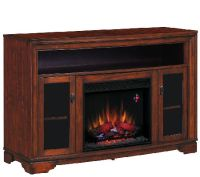 Twin Star Palisades TV/Media Mantel Fireplace with Remote ...