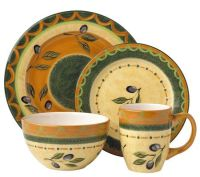 Pfaltzgraff 16-piece Everyday Tuscan Olive Dinnerware Set ...