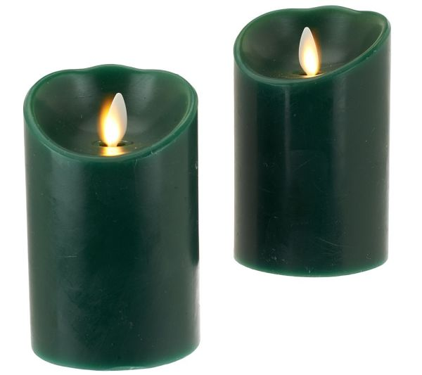 QVC Flameless Candles with Timer