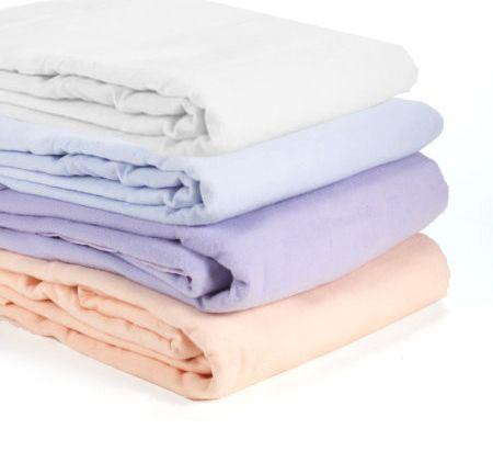 Sherbet Flavor King Size Cotton Flannel Blanket - QVC.com