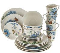 Lenox Butterfly Meadow 20-pc. Porcelain Dinnerware Set ...