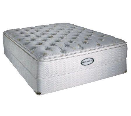 Beautyrest Roosevelt Super Pillow Top Plush Full Mattress Set  QVCcom