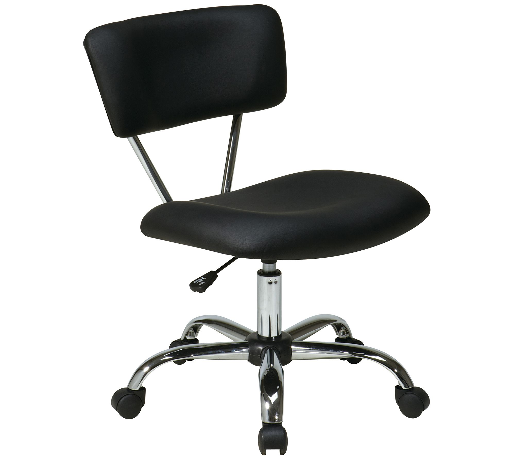 office chair qvc best posture for lower back pain vista vinyl task by ave six com