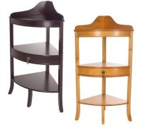 Thomas Pacconi Corner Accent Table with Drawer  QVC.com