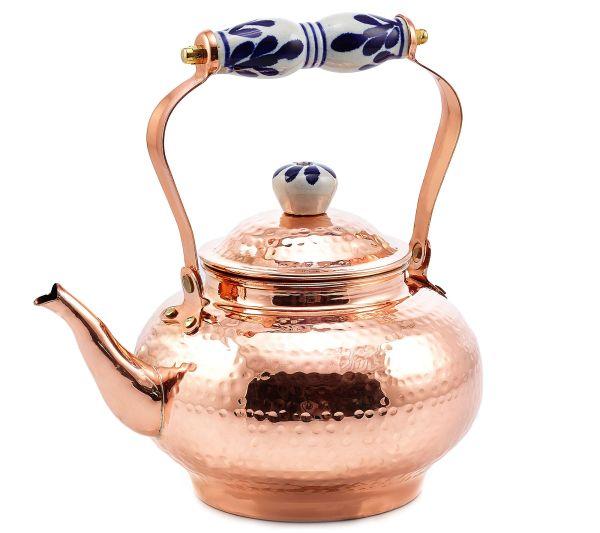 Old Dutch Copper Tea Kettle
