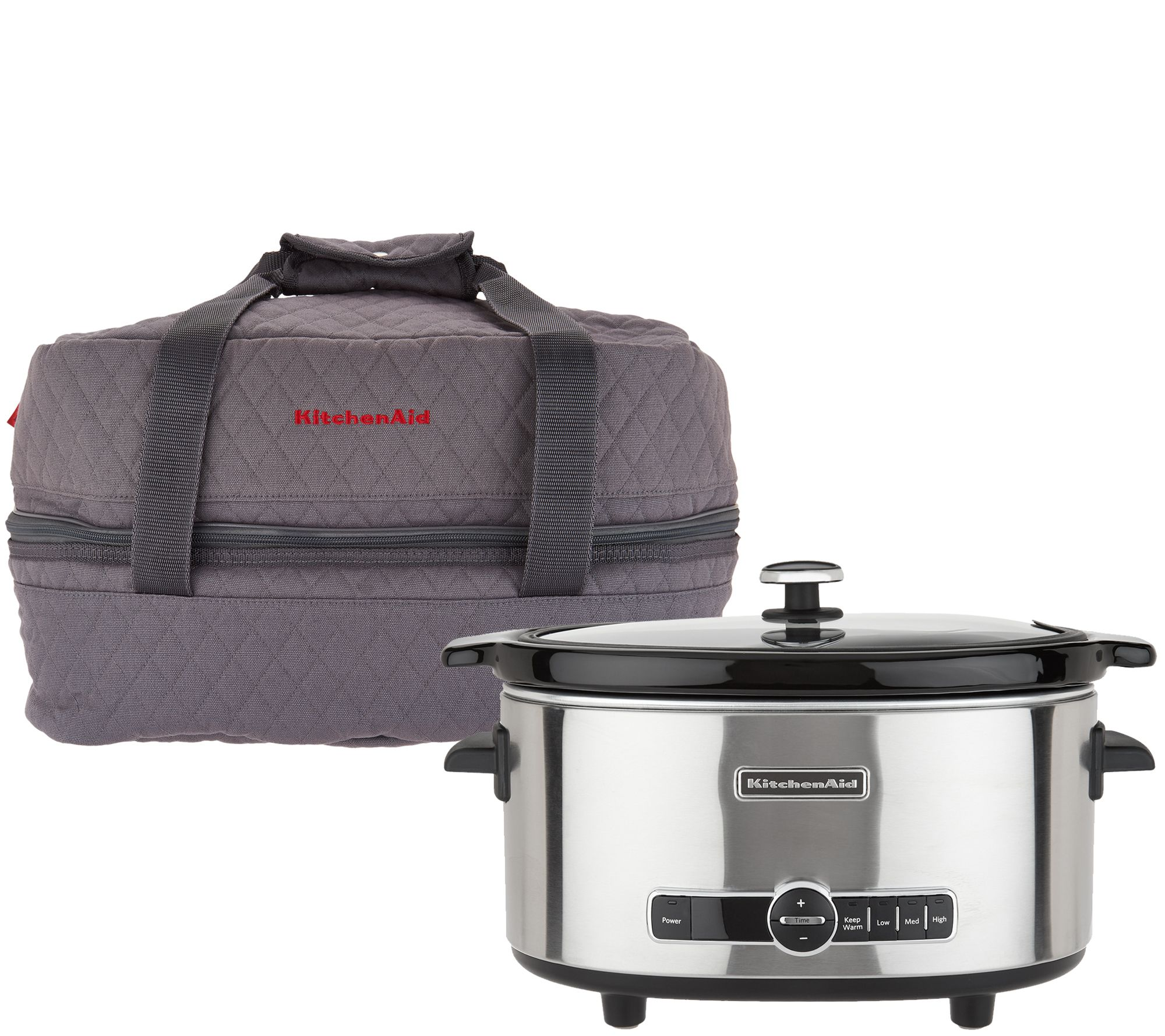 kitchen aid slow cooker ge kitchenaid 6 quart programmable with travel