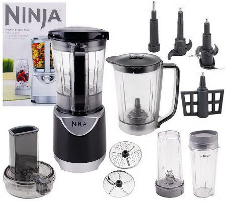 ninja kitchen system pulse delta single handle faucet 48 oz. blender with accessories ...