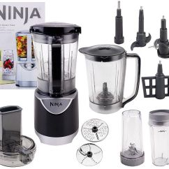 Ninja Kitchen System Pulse Ceramic Tile Floor 48 Oz Blender With Accessories Page 1 Qvc Com