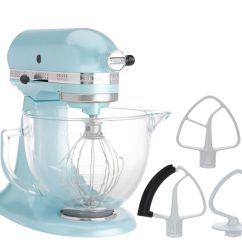 Kitchen Aid Glass Bowl Tile Floors In Kitchenaid 5 Qt 325w Tilt Head Stand Mixer W Flexedge Beater Page 1 Qvc Com