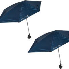 Super Brella Chair Kids Swivel Football Sport Set Of 2 Versa All Position Umbrellas Page 1 Qvc Com