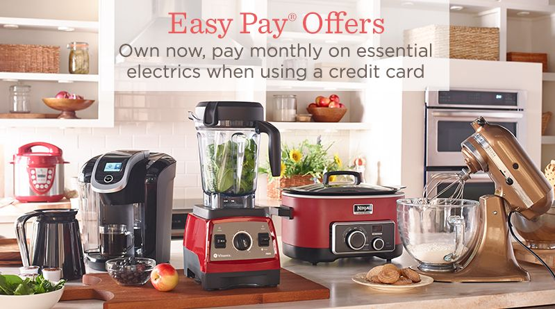 kitchen appliances pay monthly stone countertops qvc photos of