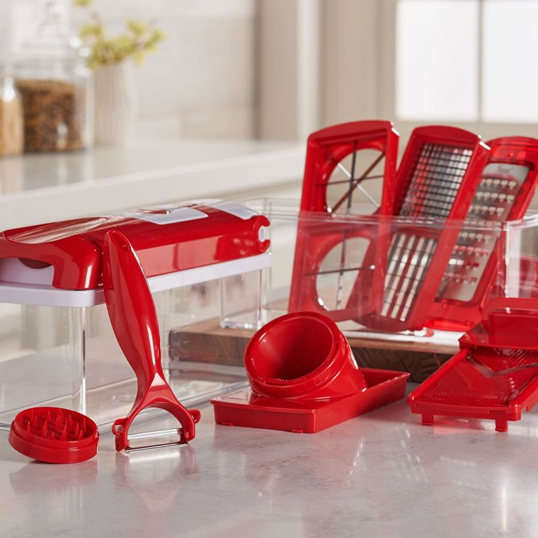 qvc.com shopping kitchen cabinet decals tools food qvc com slicers graters